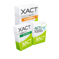 Xact Link for Act! and QuickBooks + Time and Billing Bundle